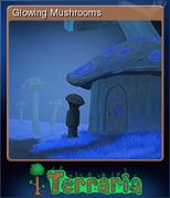 Terraria Card Glowing Mushrooms
