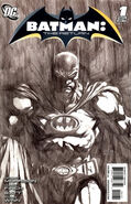 Batman The Return Finch Sketch Variant