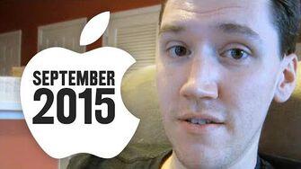 Apple Event September 2015 (Day 2115 - 9 9 15)
