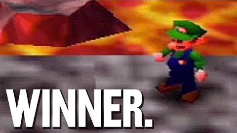 Luigi Wins by Doing Nothing!