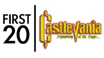 Castlevania Symphony of the Night - First20