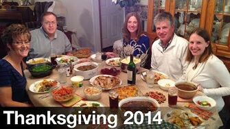 Two Families at Thanksgiving (Day 1829 - 11 27 14)