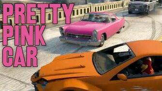 Pretty Pink Car-0