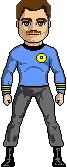 Commander J. Caffey, M.D. - USS Republic