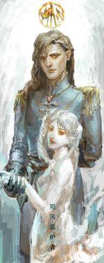 Kaladin & Syl angel