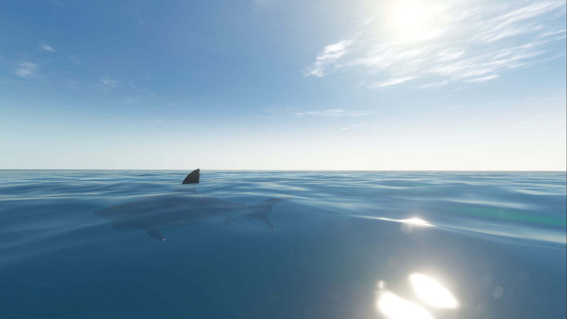 Image Great White Open Water Png Stranded Deep Wiki