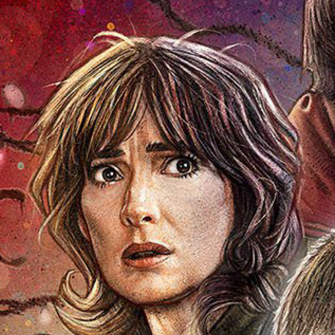 Joyce on the season one poster.