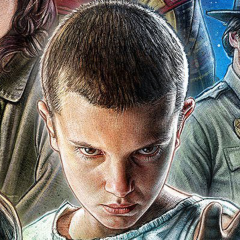 Eleven on the season one poster.