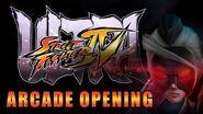 Ultra Street Fighter 4 - Arcade Opening