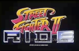 Street Fighter II THE RIDE