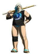Yoko Armageddon (Wrestler Costume)
