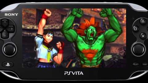 Street Fighter x Tekken Vita - Street Fighter Gameplay Video
