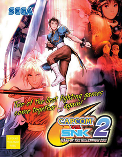 Capcom vs SNK 2 flyer