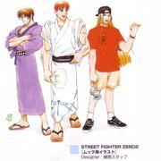 SFEC Guy Ken Ryu
