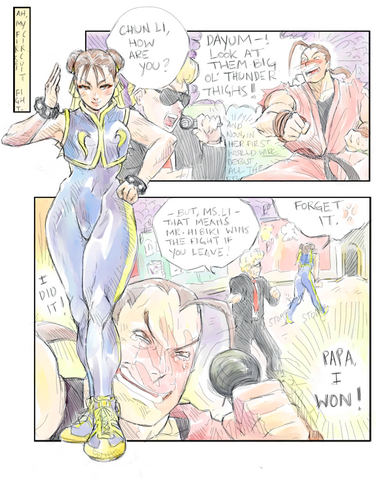 File:DAN VS CHUN LI by maki ubermach.png