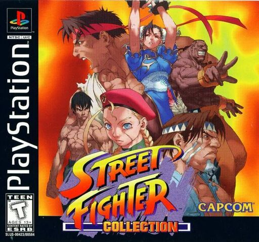 File:Street Fighter Collection cover.jpg