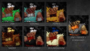 Akuma color pack 2