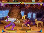 SFIII Necro vs Oro
