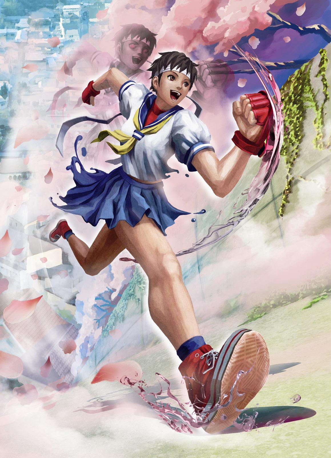 Street fighter sakura