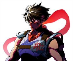NewStrider Hiryu art