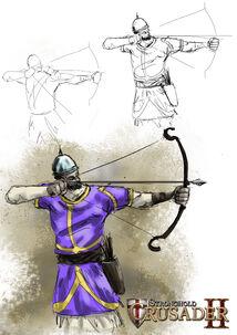 Arabian archer