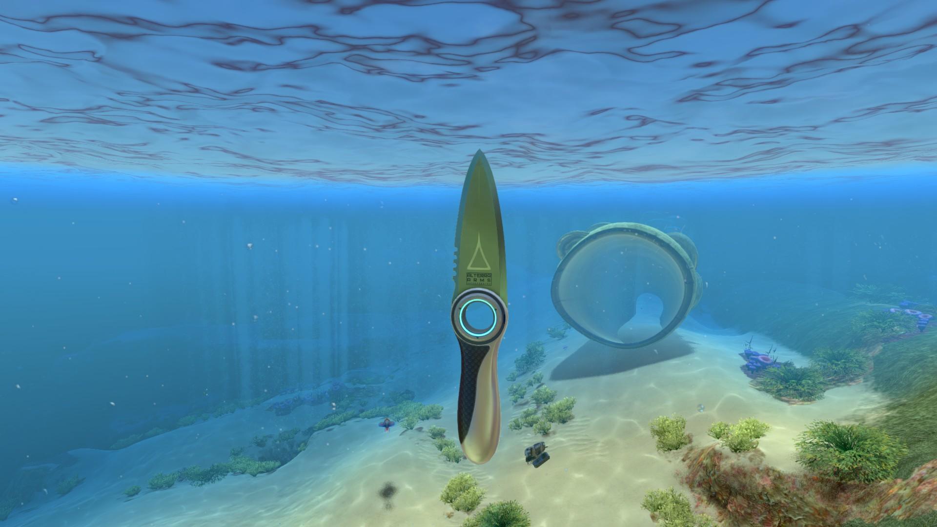 Survival Knife Subnautica Wiki Fandom Powered By Wikia