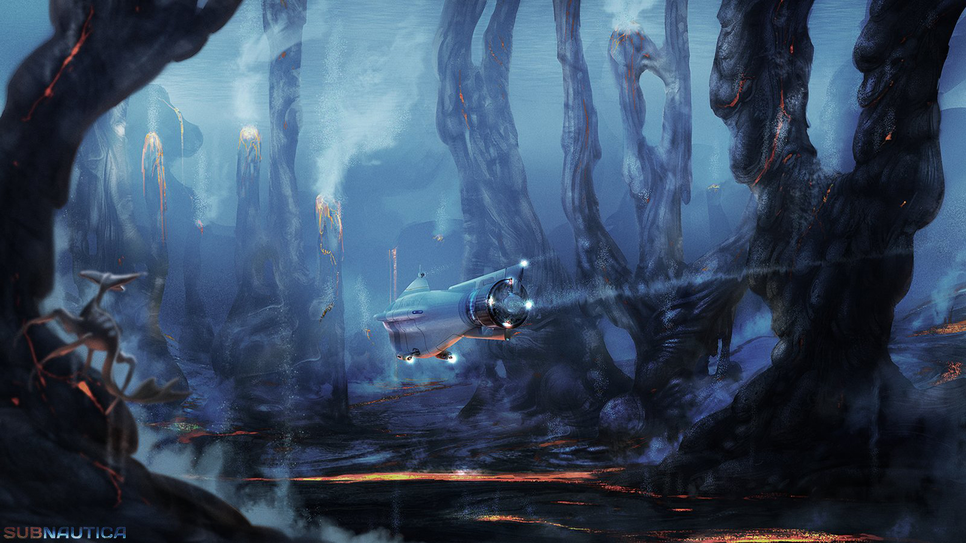 Subnautica Unused Concept Art