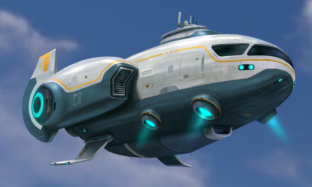 Image Sunbeam Concept Art Jpg Subnautica Wiki Fandom