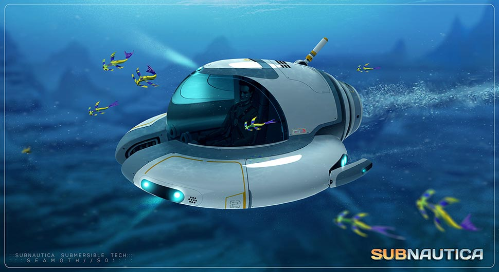 Image - Concept-art-seamoth-submersible-by-pat-presley-the ...