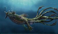 Sea Dragon Leviathan Concept Art