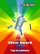 AwardSilver-LookingGood