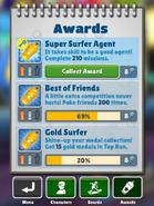 CollectingAwardGold-SuperSurferAgent