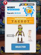 WordyWeekend-Tagbot