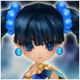 Kung Fu Girl (Water) Icon