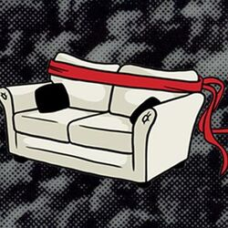 Super Couch Fighters Logo