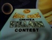 1982 Create a Villain contest