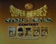 1982 Create a villain contest 2