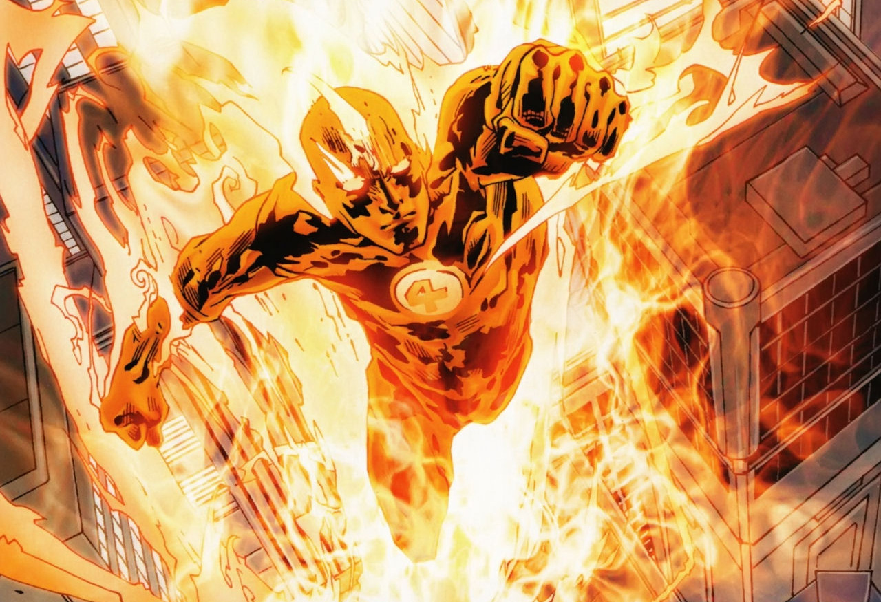 Human Torch | Marvel Database | Fandom powered by Wikia