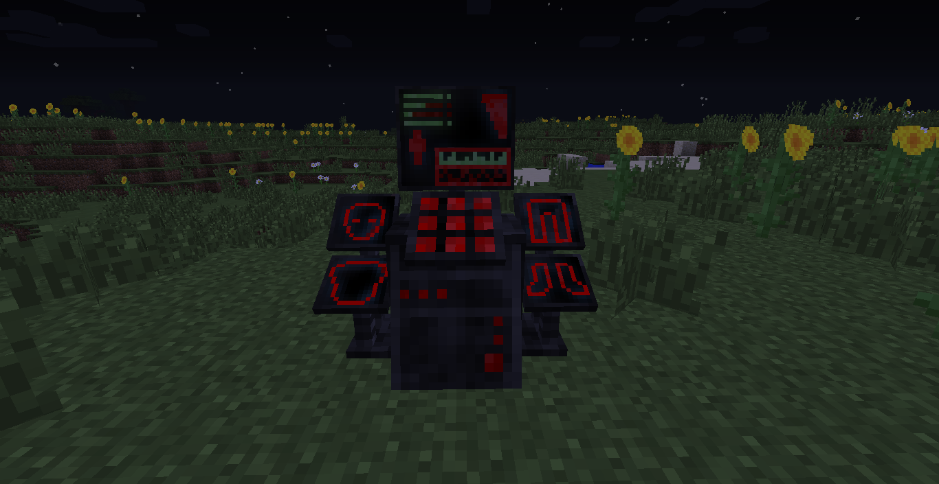 The villain maker is a device that allows players to craft suits belonging to supervillains added in 4 0 of the mod it can be crafted in a similar fashion