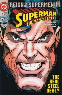 Superman Man of Steel 25