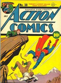 Action Comics Issue 38