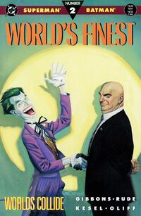 Superman Batman-Worlds finest2 Worlds Collide