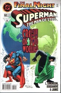 Superman Man of Steel 62