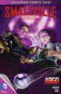 Smallville S11 114 digital Cover