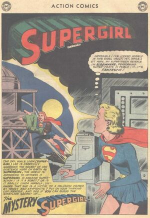 The Mystery Supergirl