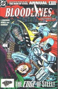 Superman Man of Steel Annual 2