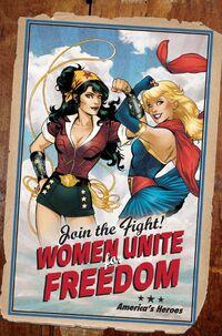 Superman-Wonder Woman 09 variant