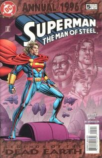 Superman Man of Steel Annual 5