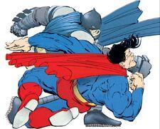 DKSA Superman Fights Batman