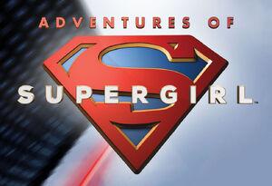 Adventures of Supergirl comic logo